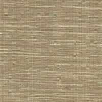 Bay Ridge Chestnut Linen Texture Wallpaper