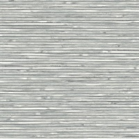 Bellport Dark Grey Wooden Slat Wallpaper