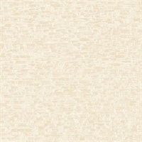 Belvedere Cream Faux Slate Wallpaper