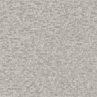 Belvedere Grey Faux Slate Wallpaper