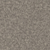 Belvedere Taupe Faux Slate Wallpaper