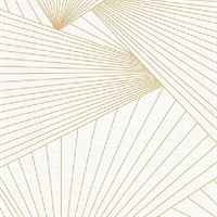 Berkeley Off-White Geometric Faux Linen Wallpaper