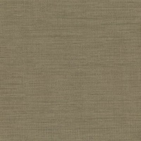Cape Town Brown Faux Silk Wallpaper