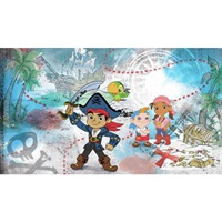 Captain Jake and the Neverlland Pirates Pre-Pasted Mural