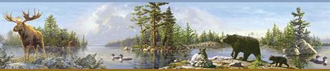 Carnegie Moose Lake Border