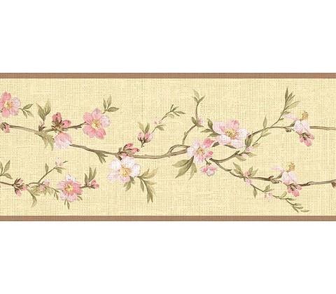 Cherry Blossom Orchard Wallpaper Border
