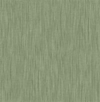 Chiniile Green Linen Texture Wallpaper