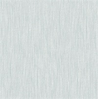 Chiniile Light Blue Linen Texture Wallpaper