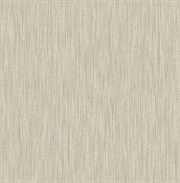 Chiniile Light Brown Linen Texture Wallpaper