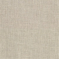 Claremont Brown Faux Grasscloth Wallpaper