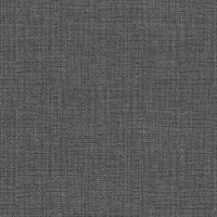 Claremont Charcoal Faux Grasscloth Wallpaper