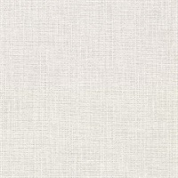 Claremont Light Grey Faux Grasscloth Wallpaper