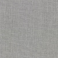 Claremont Silver Faux Grasscloth Wallpaper