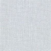 Claremont Sky Blue Faux Grasscloth Wallpaper