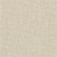 Claremont Wheat Faux Grasscloth Wallpaper