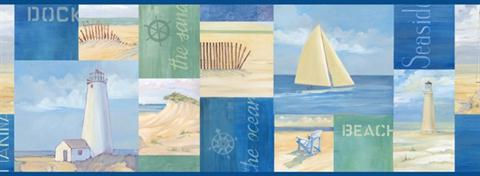 Coastal Breeze Collage