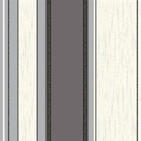 Corbett Grey Stripe Wallpaper