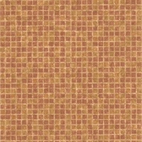 Corfu Tawny Tiles Wallpaper