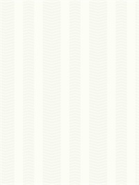 Ashford House Dart Stripe Wallpaper - White