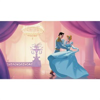 "Disney Cinderella ""So This Is Love"" Pre-Pasted Mural"