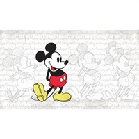 Disney Classic Mickey Pre-Pasted Mural