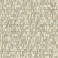Dobby Gold Geometric Wallpaper