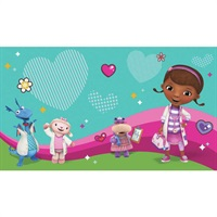 Doc McStuffins and Friends Pre-Psted Mural