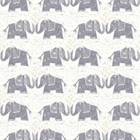 Elephants Love Wallpaper