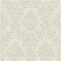 Elodie Light Grey Geometric Wallpaper