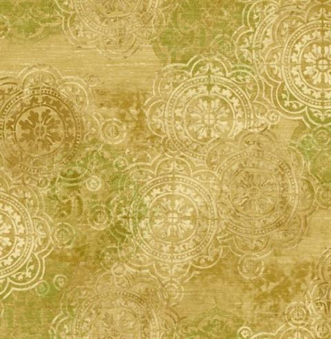 Fairwinds Studio 297 41502 Athena Gold Textured Scroll
