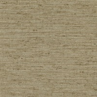 Everest Gold Faux Grasscloth Wallpaper
