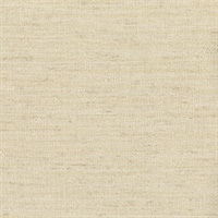 Everest Cream Faux Grasscloth Wallpaper
