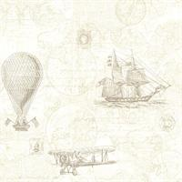 Explorer Antique Map