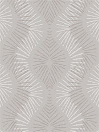 Feliz Champagne Beaded Ogee Wallpaper