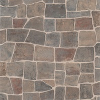 Flagstone Grey Slate Path Wallpaper