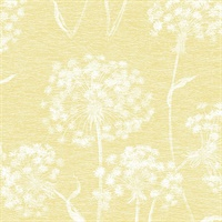 Garvey Yellow Dandelion Wallpaper