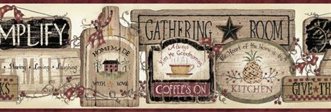 Gathering Room Signs
