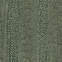 Green Snake Skin Wallpaper