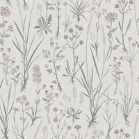 Harald Beige Botanical Wallpaper