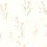 Ilary Pastel Floral Texture Wallpaper