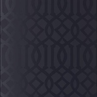 Imperial Trellis Onyx Gloss Wallpaper