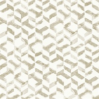 Instep Champagne Abstract Geometric