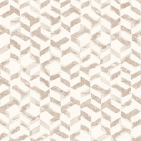 Instep Rose Gold Abstract Geometric