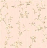 Jacqueline Floral Scroll
