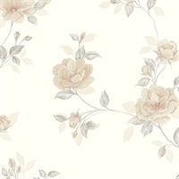 In Register Rose Trail Wallpaper