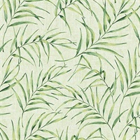 Lani Green Fronds Wallpaper