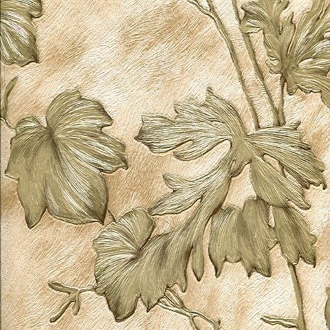 Light Brown Cow Leaves