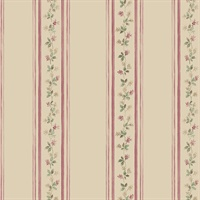 Lilac Stripe Wallpaper