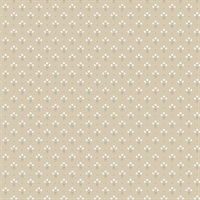 Lili Beige Miniature Floral Wallpaper