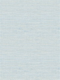 Lilt Blue Faux Grasscloth Wallpaper